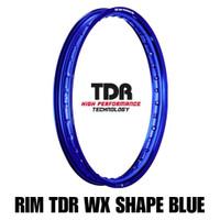 Velg Ring 17 [Satuan] Merk TDR Warna Biru Ukuran 185-17 dan 215-17 WX