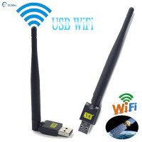 Dongle Antena Mini Portabel USB 2.0 WIFI untuk Satelit TV Receiver q9