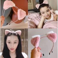 Ik135 Bando Cute Cat Ear Headband Hair Accessories