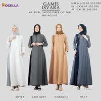 Sale Gamis Isvara by Rocella- Baju Couple Terbaru Murah Lebaran 2021