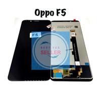 Lcd Oppo F5 Fullset - Hitam