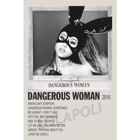 Poster Cover Album Dangerous Woman - Ariana Grande