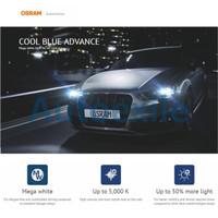 Osram Cool Blue Advance H1 55W 5000K Mega White CBA Lampu Mobil Putih