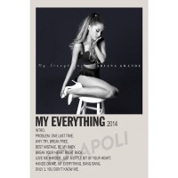 Poster Cover Album My Everything - Ariana Grande
