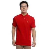 Hush Puppies Polo Shirt Pria Tango In Red