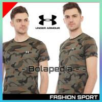 Dijual Baju Kaos Lengan Pendek Distro Army Loreng Gym Training Pria