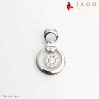 Jago Jewelry Liontin Emas Casia - Perhiasan Emas 8K-W