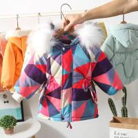 Baju Musim Dingin Anak Perempuan Jaket Katun 2021 Baru Gaya Asing