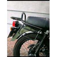 AKSESORIS MOTOR LAINNYA BEHEL BEGEL BACK RACK BACKRACK KAWASAKI W175