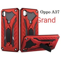 CASE HP OPPO A37 / OPPO NEO 9 CASING STANDING ARMOR BACK COVER