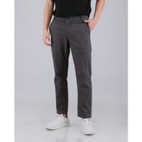 LIVEHAF - Tib Chino Long Pants Dark Gray