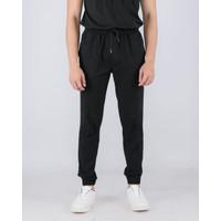 LIVEHAF - Pijung Jogger Pants Slim Black