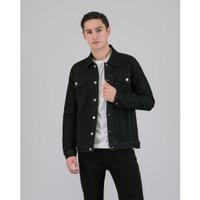 LIVEHAF - Waze Denim Jacket Black