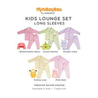 MINIBOUBOU Kids Lounge Set Long Setelan Anak
