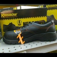 Sepatu Safety Krisbow Hercules 4Inchi Original