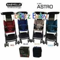 BAYI.Stroller BabyElle Pockit Astro S350 . Baby Elle Astro . Babyelle