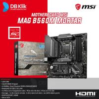 Motherboard MSI MAG B560M MORTAR m-ATX LGA1200 HDMI DP -MSI B560 M ...