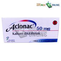 ACLONAC 50MG 1 STRIP ISI 10 TABLET