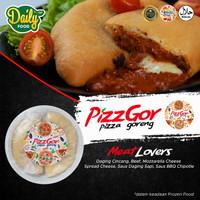 Pizzgor Pizza Goreng Meat Lovers Frozen Dailyfood Daging Beef 2 Pcs
