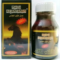 READY STOCK MADU KEJANTANAN KUDA HITAM obat herbal kuat stamina pria