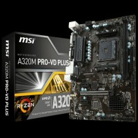 NEW PRODUCT MOTHERBOARD MSI A320M PRO VD PLUS