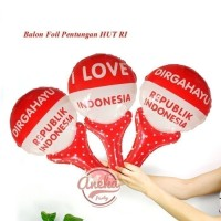 balon pentung merah putih Balon foil HUT RI balon 17 agustus
