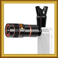 Lensa Telezoom Telescope 8x For Smartphone Tele Zoom Jepit Focus