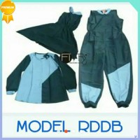 PA415 New Baju Renang RDDB jumpsuit size S-5L muslimah dewasa Unik