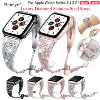 Apple Watch Series Band 44mm Series 5 4 Diamond Rhinestone Stainless