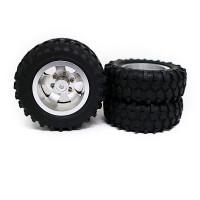 2 Set Ban Karet Hex 5mm Untuk Wpl D12 1 / 10 Rc Truck Car