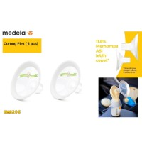 Promo PMS206 CORONG MEDELA PERSONAL FIT FLEX CORONG POMPA ASI on