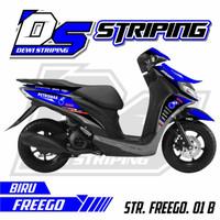 Striping Motor Variasi List Stiker Yamaha FREEGO 125 Des pubtka 8271hq
