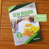 Seni Budaya SMP Kelas 9 Kurikulum 2013 Revisi Buku Erlangga Original