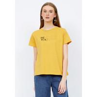 The Executive Graphic Short Sleeve T-Shirt 5-TSKKCA221H041 Banana