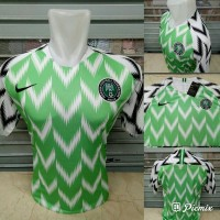 Jersey Kaos Baju Bola Nigeria Home Away World Cup Piala Dunia 2018