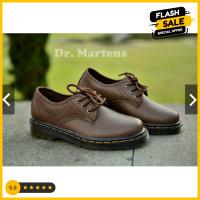 Nice brown Dr. murah low boots Sepatu casual black maroon Docmart boot