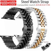 PROMO iWatch Stainless Steel Strap Apple Watch Band 6 SE 5 4 3 40 44mm