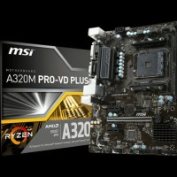 LIMITED STOCK MOTHERBOARD MSI A320M PRO VD PLUS