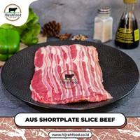Slice Beef Brisket Fatty | AUS Shortplate Sukiyaki / Yakiniku / Shabu
