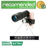 Maifeng Lensa Tele Zoom 16X52 untuk Smartphone - Hitam