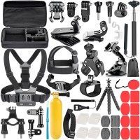 Neewer for GoPro Accessories Set for Go Pro Hero 8 7 6 5 4 Black Mo j6