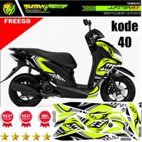 DECAL STIKER MOTOR YAMAHA FREEGO SEMI FULL BODY murah