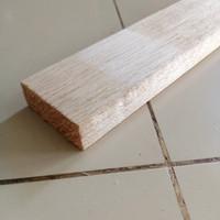 Kayu Balsa balok Block balsa strip 2cm x 5cm x 80cm 1pcs Balsa maket K