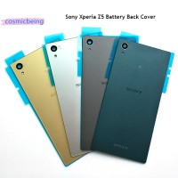 Good Sony Xperia Z5 Glass Back Battery Cover Rear Door Housing Case