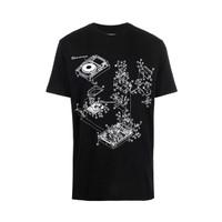 Off-White Pioneer DJ Console Print T-Shirt Black