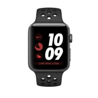✅Price Apple Watch Series 3 42mm Nike Space Gray Black Sport Band