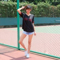 Unik redsox hitam baseball baseball baju Jersey Keren
