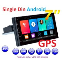 Single din 7 Inchi Android