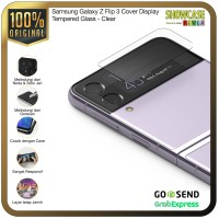 Ringke Galaxy Z Flip 3 Cover Display Tempered Glass Cover Anti Gores