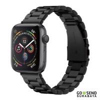 Promo Stainless Steel Strap Apple Watch 44mm 42mm Series 5 4 3 2 1 Spi